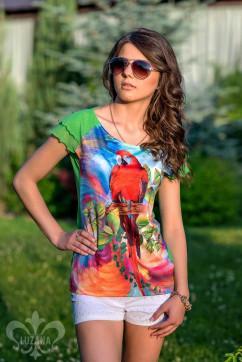 Блуза Luzana Тропикана