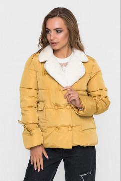 Куртка с пышным воротником SKHouse 7036