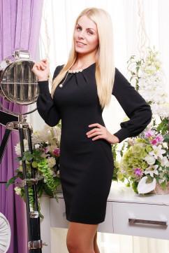 Чёрное оригинальное платьице Irena Richi Анабель