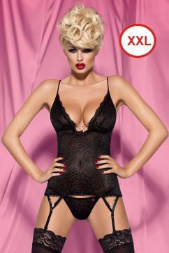 Эротический корсет Obsessive Diamond corset большой