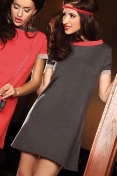 Платье Pigeon PI-040 графитового цвета