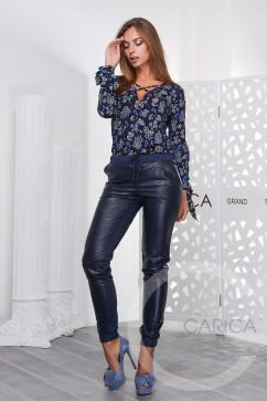 Зауженные брюки Carica BR-4081