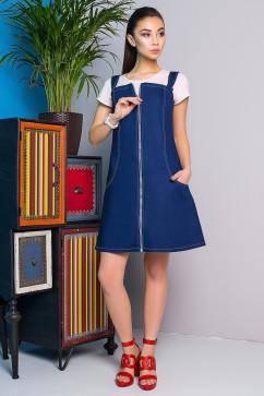 Джинсовый сарафан A-Dress 70850