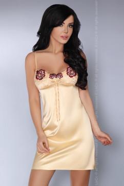 Атласная сорочка с вышивкой Livia Corsetti Csenge