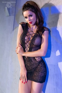Эротическое платье ChiliRose CR-4384