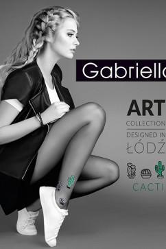 Колготки в стиле ART Gabriella Cacti 20 den