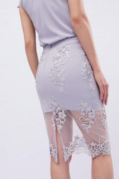 Нарядная юбка с вышивкой Carica UB-3240