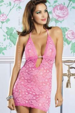 Розовый комплект Obsessive Brilliant Jennifer