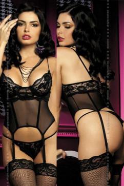 Комплект -  Obsessive Magnolie corset