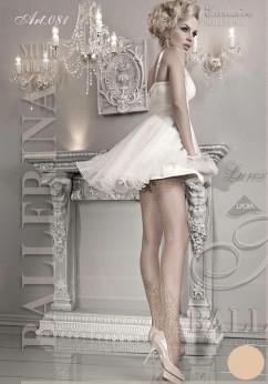 Свадебные колготки с люрексом Ballerina 081
