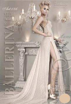 Стильные колготки цвета айвори Ballerina 086