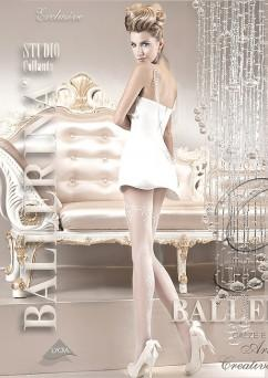 Колготки под свадебное платье Ballerina 110. белый