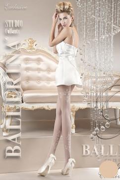 Колготки для невесты цвета айвори Ballerina 118