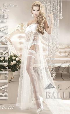 Белые чулки под свадебное платье Ballerina 121