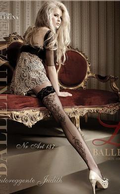 Модные чулки с ажурной стрелкой Ballerina 137