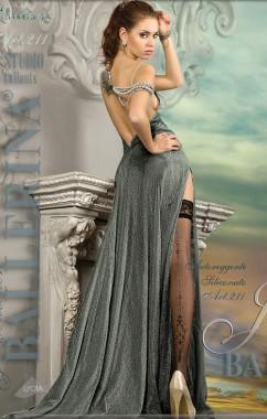 Сексуальные чулочки с люрексовой стрелкой  Ballerina 211