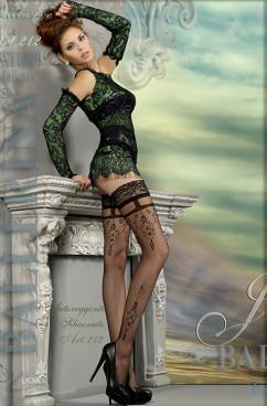 Сексуальные чулки с ажурным узором Ballerina 212