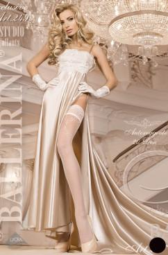 Чулки с ажурными подвязками Ballerina 249