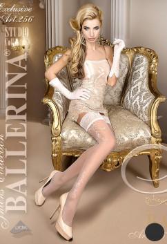 Чулки с кружевной резинкой Ballerina 256