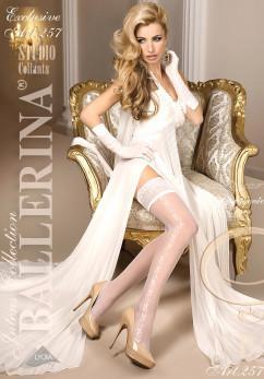 Чулки с красивым кружевом Ballerina 257