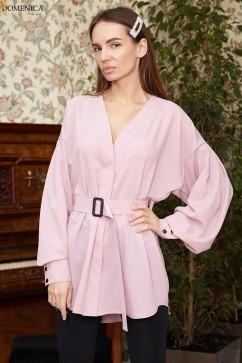 Базовая блуза из софт Domenica Р 2465