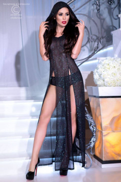 Блестящее платье с трусиками ChiliRose CR-4259