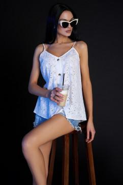 Блуза Jadone Fashion Рози