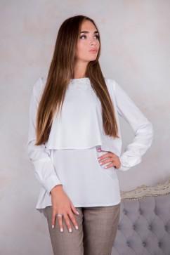 Блуза с декором бусины Domenica Р 1876
