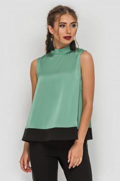 Блуза свободного фасона TessDress Марфа