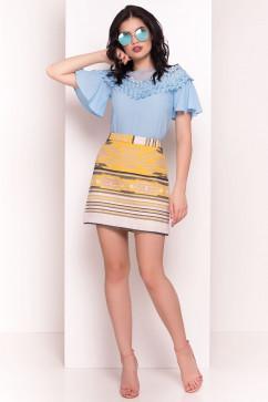 Блузка с кружевным декором Modus Эридан 5020