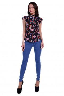 Блузка с оригинальным рукавом Modus Джил