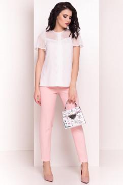 Блузка с вертикальной планочкой Modus Миларо 5071