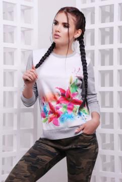 Яркий свитшот Лилии FashionUp KF-1589