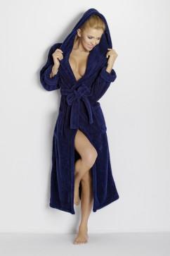 Махровый халат Dkaren Diana с глубокими карманами