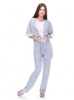 Домашний халат с кружевом Serenade 5508Н