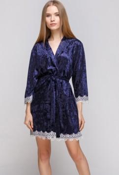 Домашний велюровый халат Serenade 5001