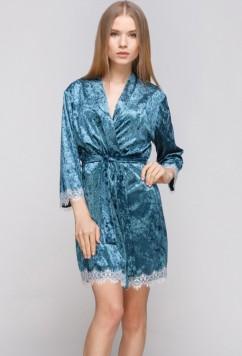 Домашний велюровый халат Serenade 5021