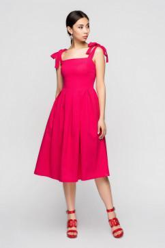Яркий малиновый сарафан A-Dress 70920