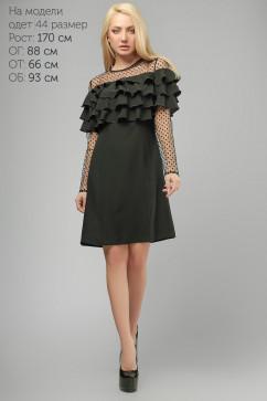 Эффектное платье на кокетке LiPar 3201