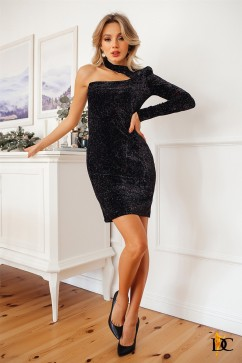 Экстравагантное платье из бархата Domenica Р 2667