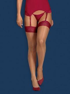 Эротические чулки Obsessive Rosalyne stockings