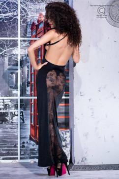 Эротическое черное платье ChiliRose CR-4245