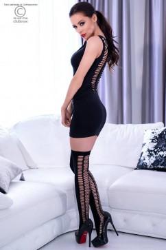 Эротическое платье ChiliRose CR-4305