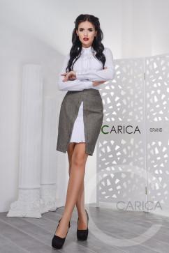 Юбка с декором Carica UB-3225