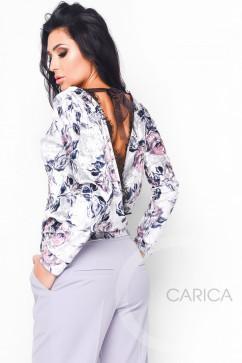 Велюровый свитшот Carica 7525