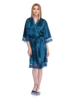 Изумрудный домашний халат Serenade 2121