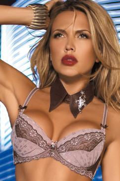 Красивый бюстгальтер увеличивающий объем груди