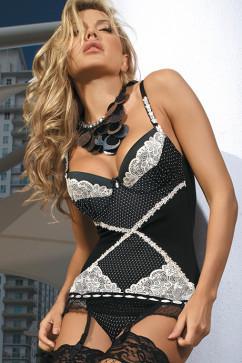 Женский корсет с кружевом Kinga Vogue M-2310