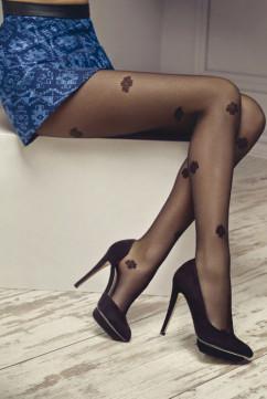 Колготки с цветочным орнаментом Marilyn Gucci G08 20 den