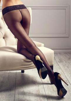 Колготки с декоративной стрелкой Marilyn Gucci G02 20 den